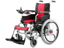 Power Wheelchair with Electromagnetic brakes