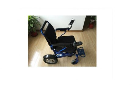 Smart Phone Holder For Electrical Wheelchair _2