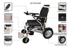 Aluminum Electrical Wheelchair