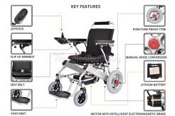 Quick Folding Lightweight Electric Wheelchair G10