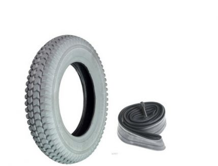 Wheel tire with tube