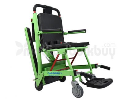 Comfort Care Stair Climbing Power Wheelchair G08 Side View