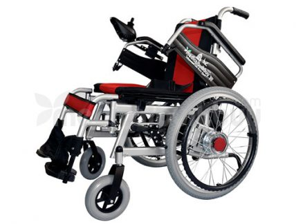 Electrical Wheelchair With Big Wheels G01B Both Flip up Arms