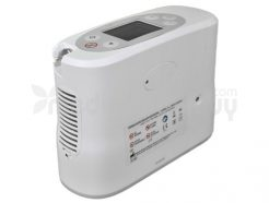 Pulse Mode Portable Oxygen Concentrator Side View