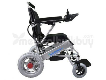 Quick Folding Light Weight Electric Wheelchair G10 Side View