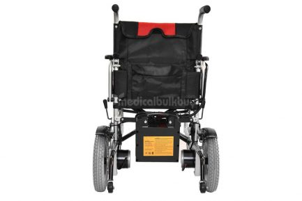 Electrical Wheelchair G01 Rear View