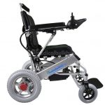 Quick-Folding-Light-Weight-Electric-Wheelchair-G10-Side-View