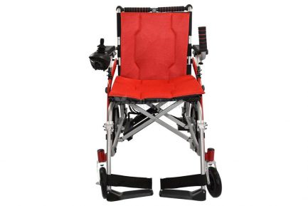 Ultra Lightweight Powered Traveling Wheelchair G11 Front View