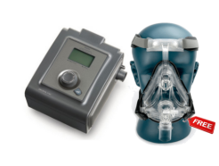 Philips bipap with ivolve full face mask