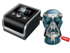 Cpap with mask